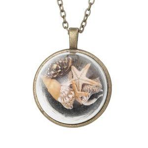 Jewelry - 4 /$25  Beach Conch Ocean Shells Starfish Necklace